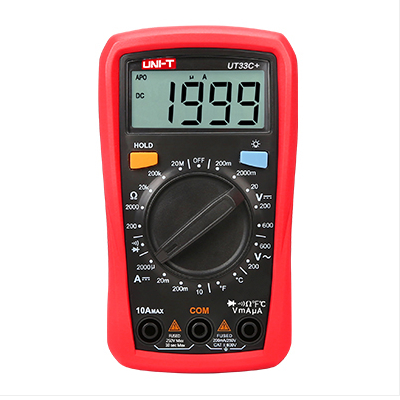 Digitale Multimeter UT33C+