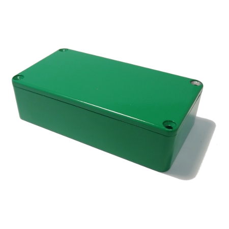 111 x 60 x 31 mm Alu Green Hammond 1590B