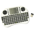 Wireless mini keyboard with touchpad
