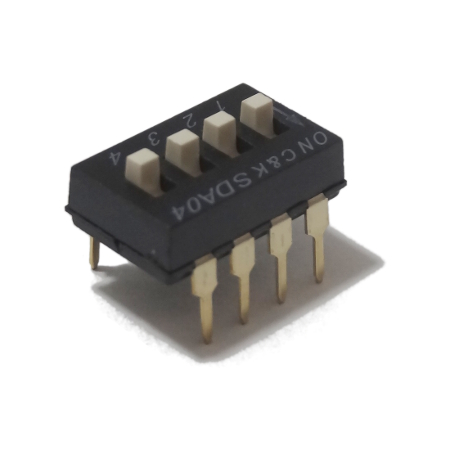 DIP Switch 4-polig